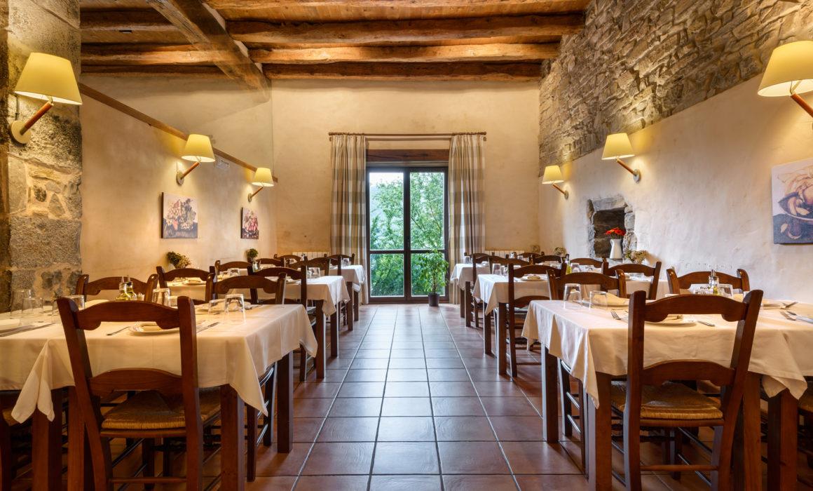 Restaurante del Hotel Akerreta